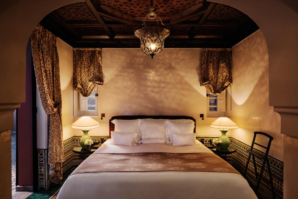 Riad, La Mamounia Hotel, Marrakech, Morocco. Photo by Alan Keohane www.still-images.net for La Mamounia