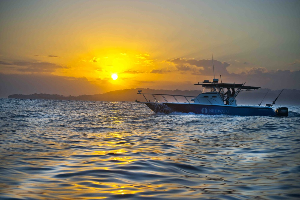Nihiwatu sunset cruise