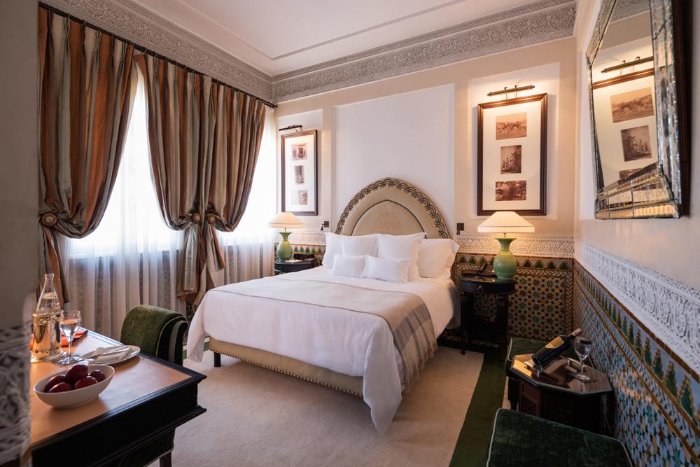 La Mamounia Hotel, Marrakech, Morocco. Photo by Alan Keohane www.still-images.net for La Mamounia