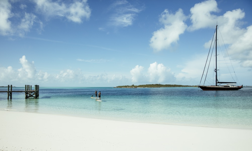 Over Yonder Cay Private Island, Bahamas - We Love Weddings