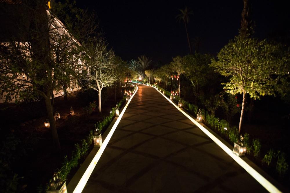 chemin de nuit