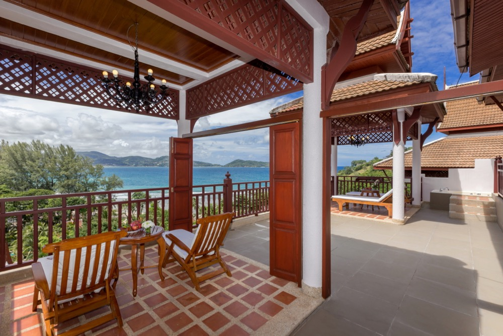 Thavorn_beach_village_and_spa_1BR_Hillside_OceanView_Villa_Terrace_Stuning_View_Relaxing